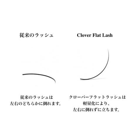 クローバーフラットラッシュ Cカール | 0.15mm
